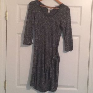 Max Studio M sweater dress like new!